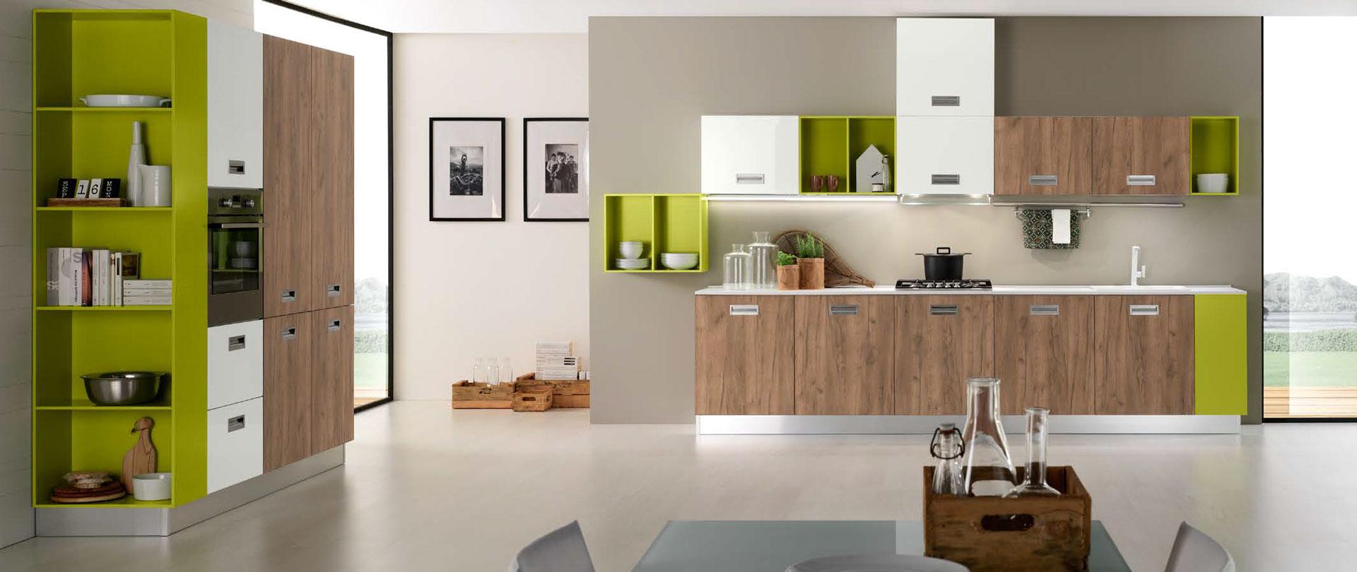 Cucine moderne cucinissima for Cucine moderne piccole prezzi