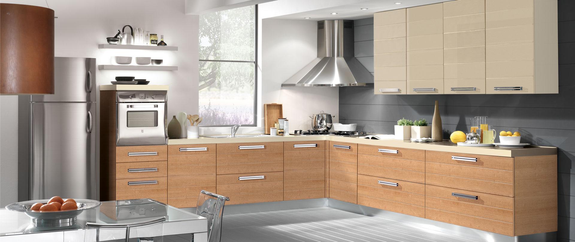 02-cucina-moderna-egle-ciliegio-marbella_crema - Cucinissima