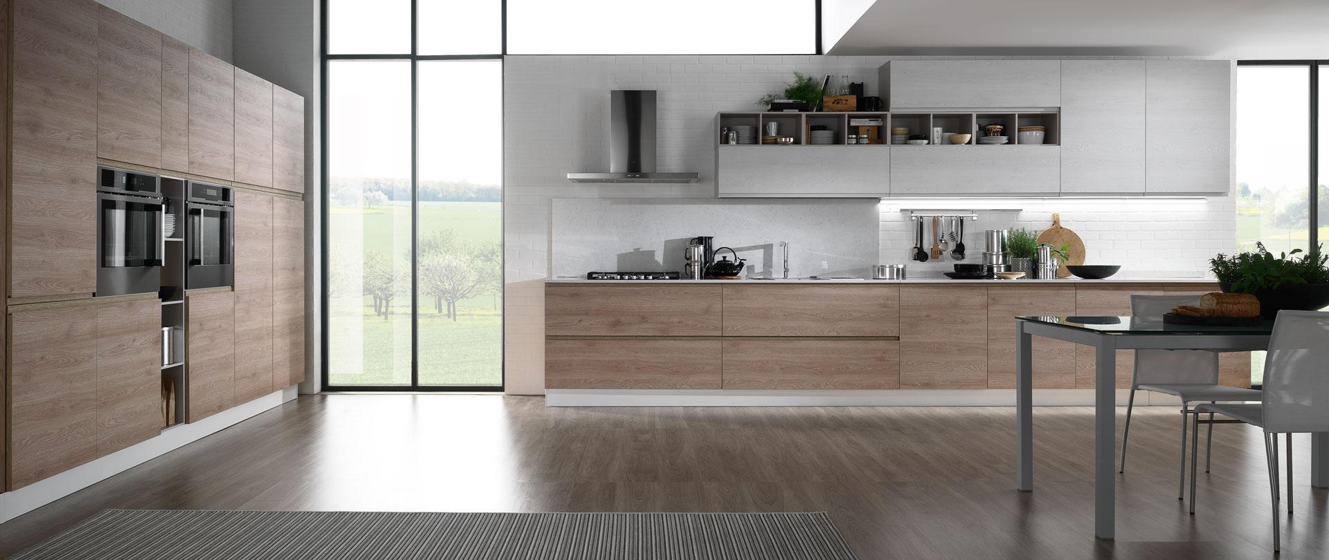 03-cucina-moderna-top-quarzo-luna - Cucinissima
