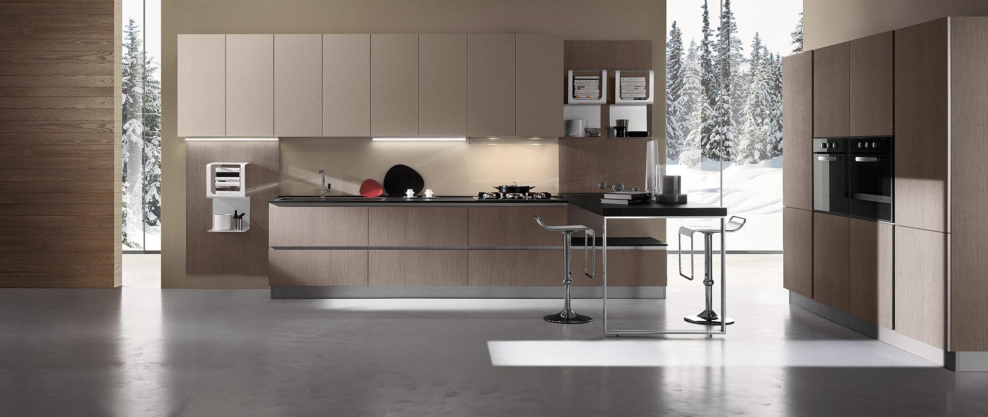 Cucinissima - Cucine Moderne e Componibili - Suddivisione Zone